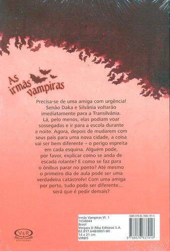 coleção as irmãs vampiras franziska gehm 4 volumes