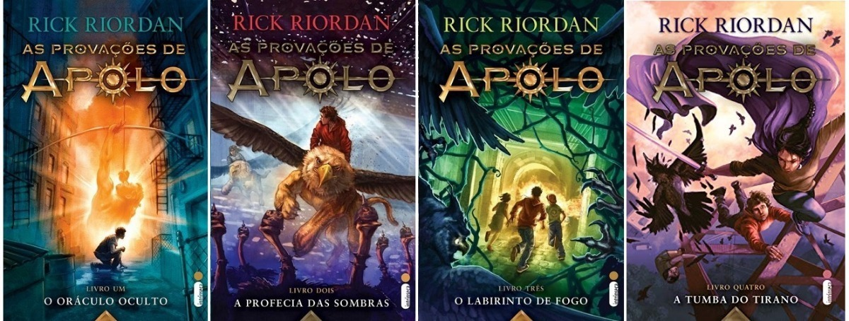 Coleção As Provações De Apolo - 4 Livros - Rick Riordan - R$ 229 ...