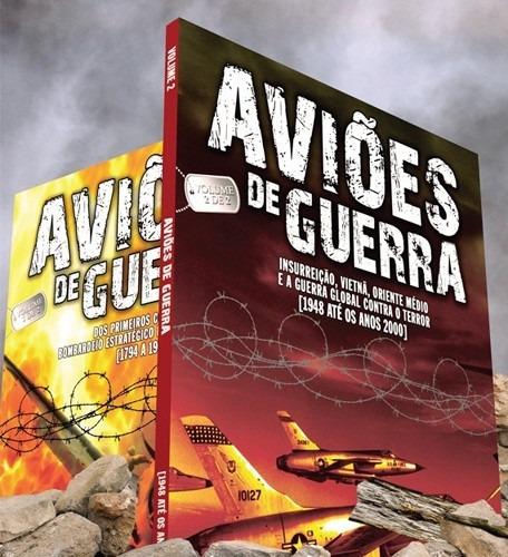 coleção aviões de guerra 2 livros