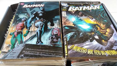 coleção batman panini 1ª série completa