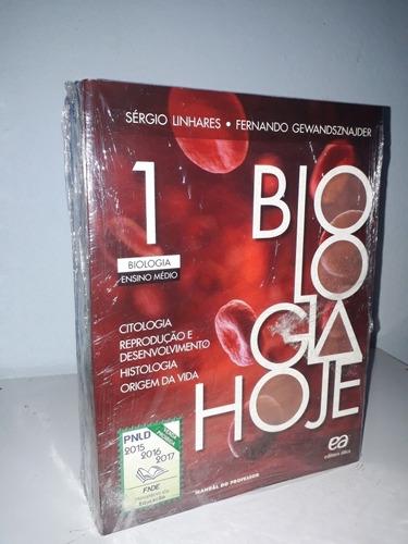 coleção biologia hoje vol. 1, 2, 3. ed. ática. ensino médio