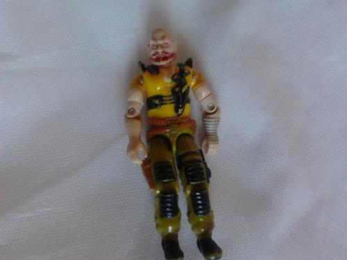 coleção boneco g.i joe - sgt. taurus renegados 1987