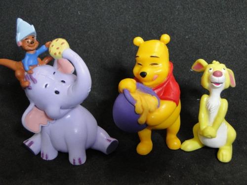 coleção bonecos minhas  miniaturas  disney urso pooh  m5