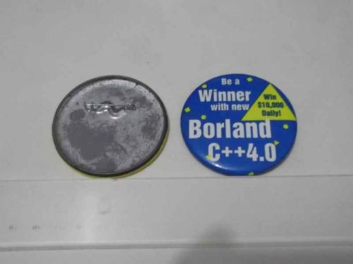 coleção botons - button - borland c++ 4.0