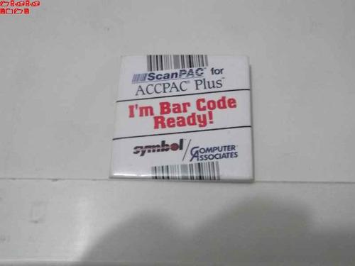 coleção botons - button - i'm bar code ready