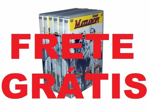 coleção box dvd mazzaropi - 6 volumes com 34 filmes