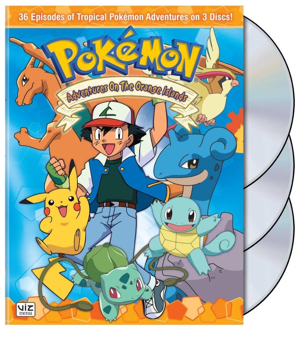 coleção box dvd pokemon todos episódios completo dublado r 49 90