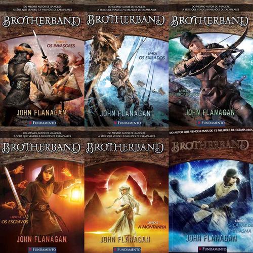 coleção brotherband  - john flanagan - 6 livros