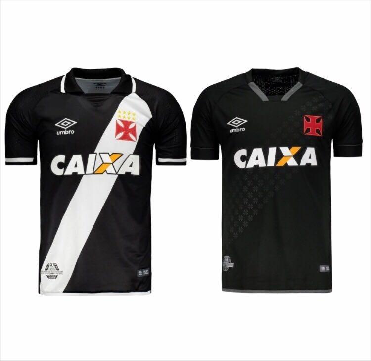 Coleção C 2 Camisas Vasco Da Gama Original 2018 Frete Grátis - R ... 5a06e168a0e71