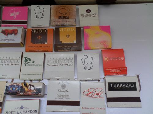 coleção caixas fosforos