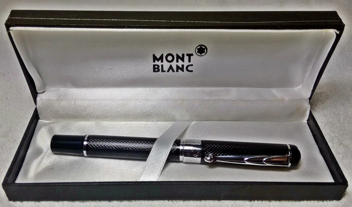 e539d4aba58 coleção  caneta mont blanc original o menor preço do ml. Carregando zoom.