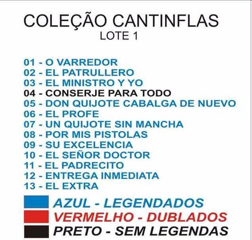 coleção cantinflas lotes 1, 2 e 3 - anúncio especial