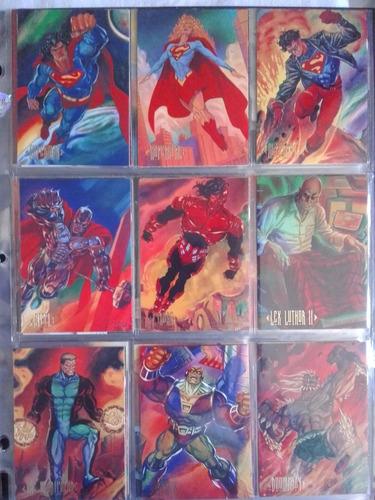 coleção cards dc master series 1994