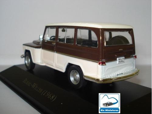 coleção carros inesquecíveis do brasil altaya - rural willys
