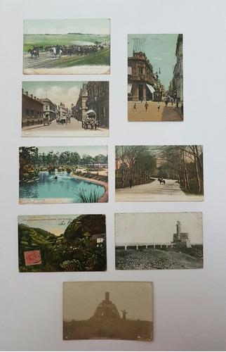 colecão cartões postais raros antigos uruguai lote 1