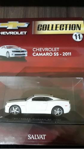 coleção chevrolet ed 11 camaro ss-2011