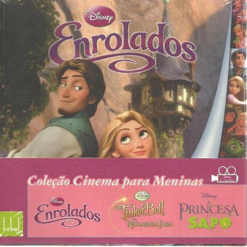 coleção cinema para meninas disney - box com 3 livros