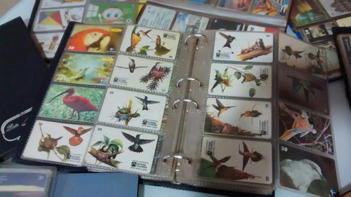 coleção com cartões