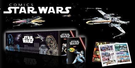 coleção comics star wars números  24,36,37 e 59.
