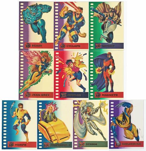 X MEN FLEER ULTRA 95 SUSPENDED ANIMATION CARD 3 OF 10