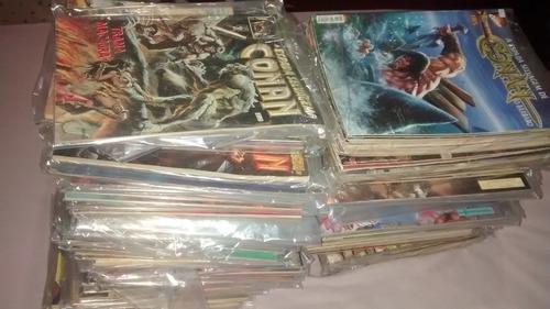 coleção completa conan o bárbaro.
