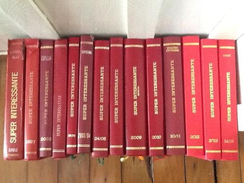 coleção completa da superinteressante encardenada por ano