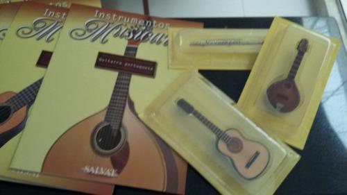 coleção completa de mini instrumentos musicais salvat