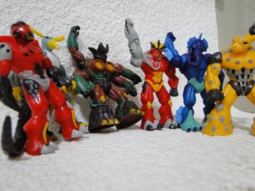 coleção  completa  gormiti  com  06  bonecos