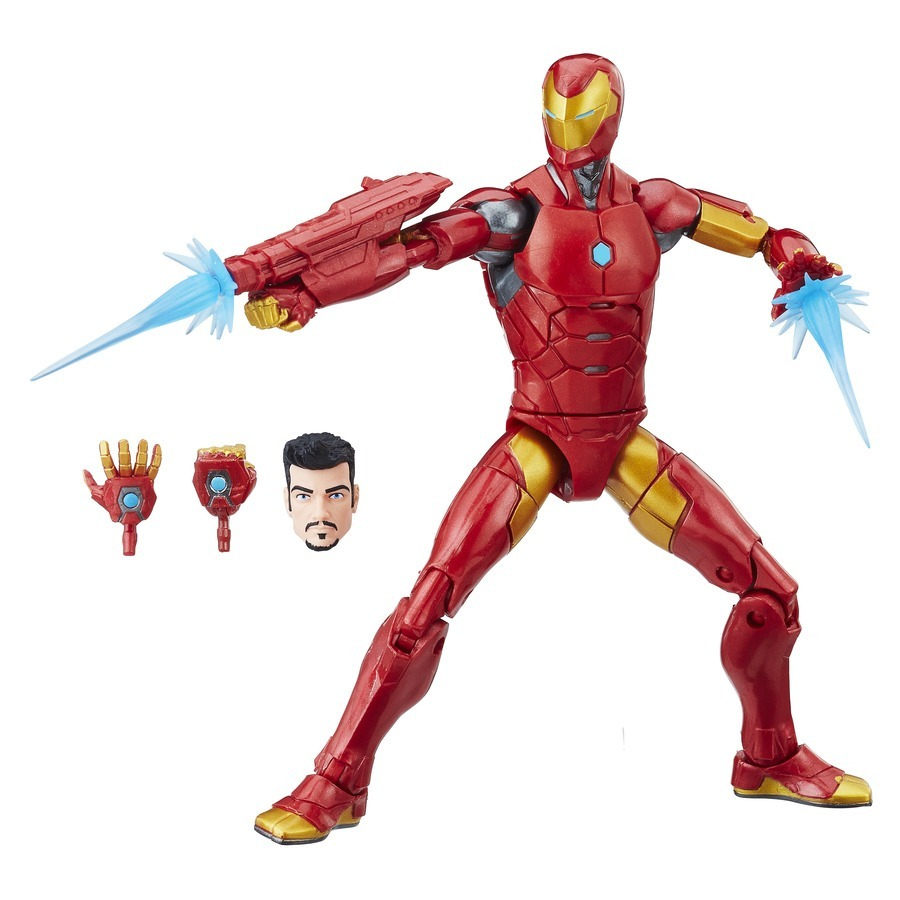 MARVEL LEGENDS Black Panther BAF Okoye Iron Man Invincible HASBRO ACTION FIGURE