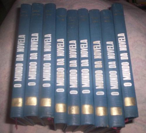 coleção completa o mundo da novela 9 volumes