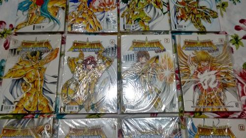 coleção completa saint seiya classico,lost canvas e gaiden