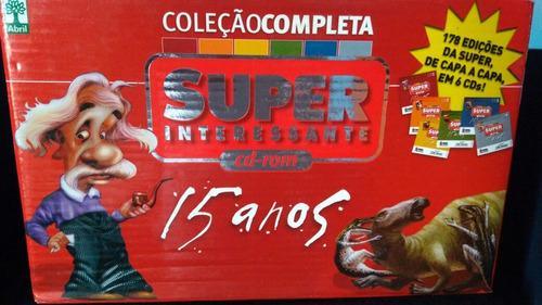 coleção completa superinteressante 1987-2002