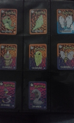 coleção completa tazo pokemon