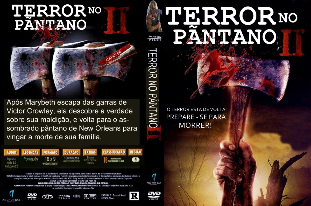 filme terror no pantano 2 dublado
