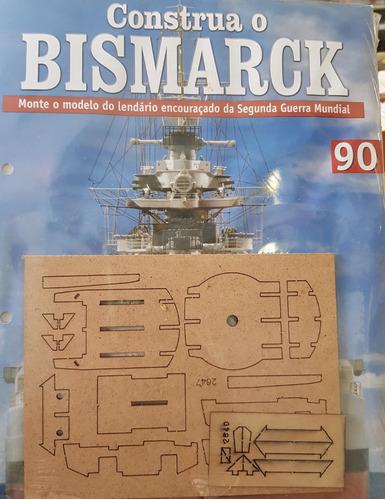 coleção construa o bismarck edição 90