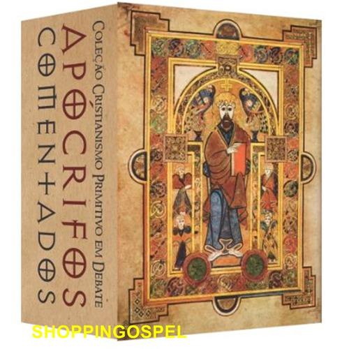 coleção cristianismo primitivo apócrifos comentados 5 vol