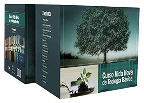 coleção curso vida nova de teologia básica - 13 vols