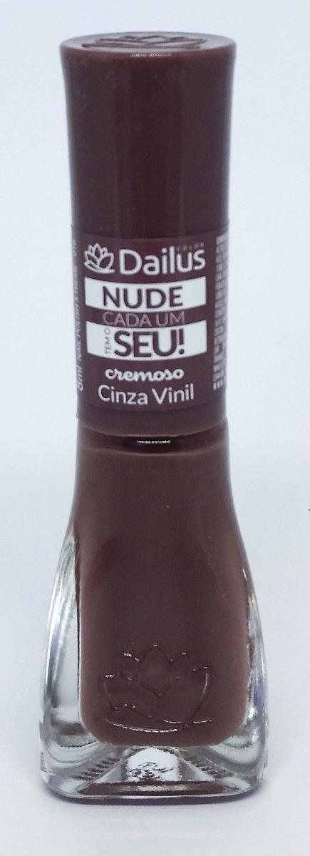 Esmalte Cremoso Dailus Nude Cada Um Tem O Seu | Beleza na Web