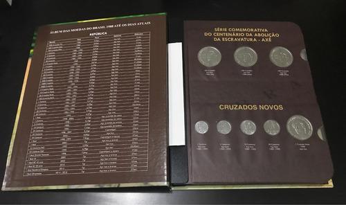 coleção das moedas