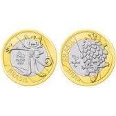 coleção das moedas das moedas