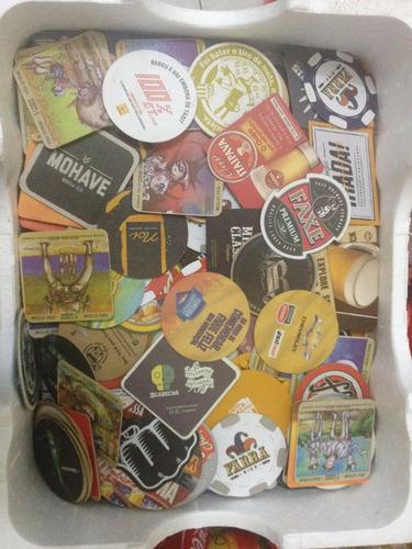 coleção de 510 bolachas porta copos de cervejas + artesanais