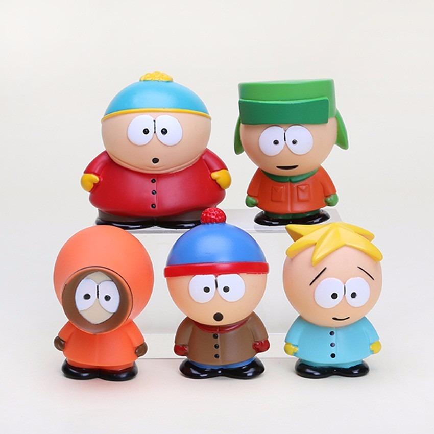 d8420b6b0b Coleção De Actions Figures - South Park Kit Com 5 Bonecos - R$ 86,77 em  Mercado Livre