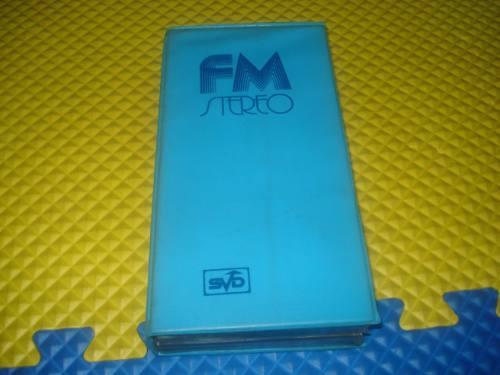 coleção de cassetes fm stereo da svd