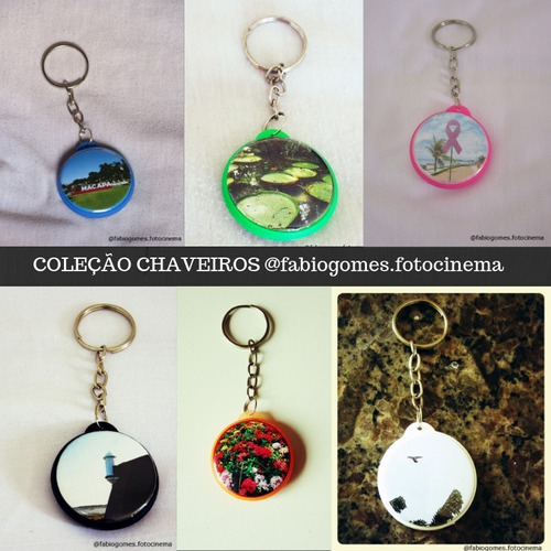 coleção de chaveiros fabio gomes foto & cinema