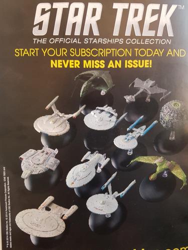 coleção de espaçonaves star trek pintadas à mão