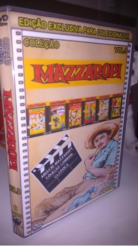 coleção de filmes mazzaropi 34 dvds 1 brinde, lindo box!