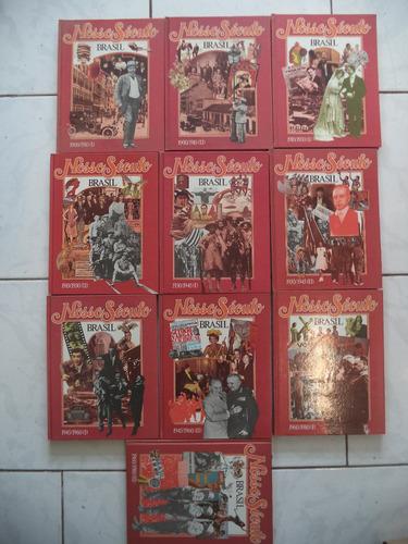 coleção de livros nosso século brasil/enciclopédias