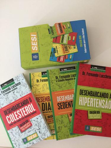 coleção de livros sesi