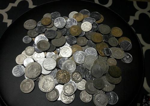 coleção de moedas antigas