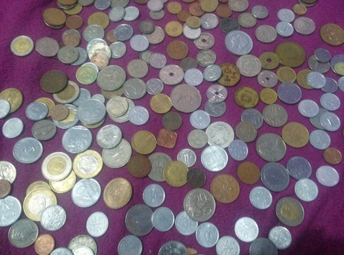 coleção de moedas estrangeiras - diversos paises